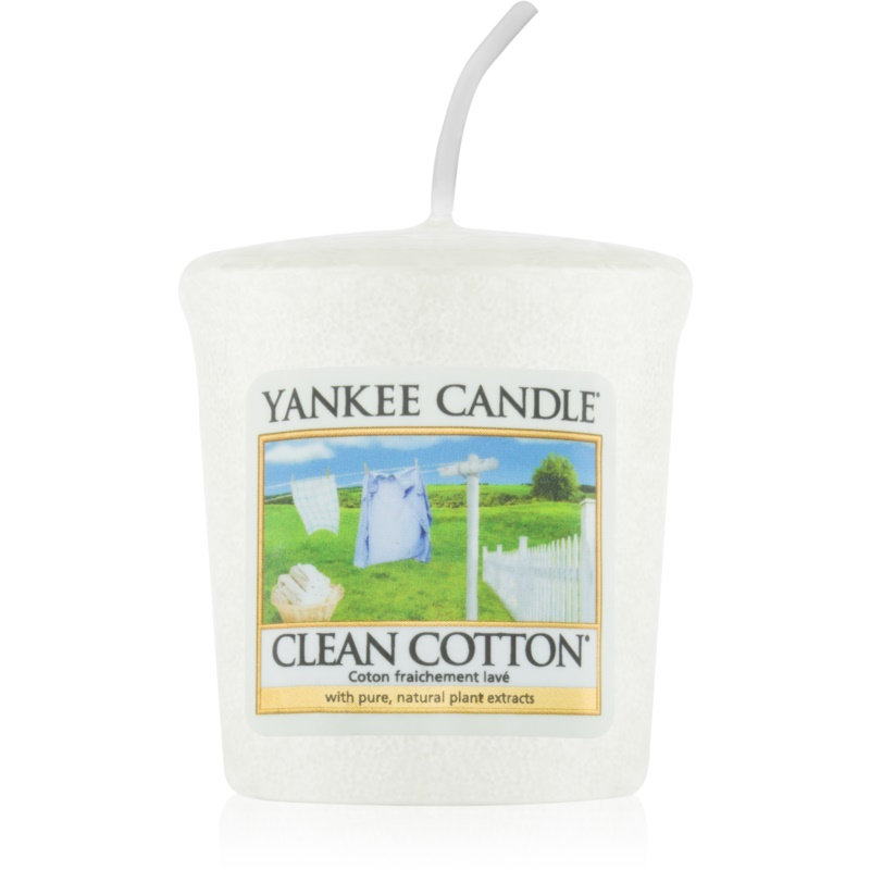 Yankee Candle Clean Cotton votive candle 49 g from Yankee Candle