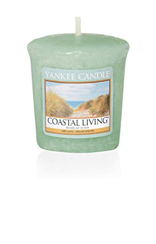 Yankee Candle Coastal Living Votive Candle, Wax, Green, 4.7 x 4.5 x 5 cm from Yankee Candle