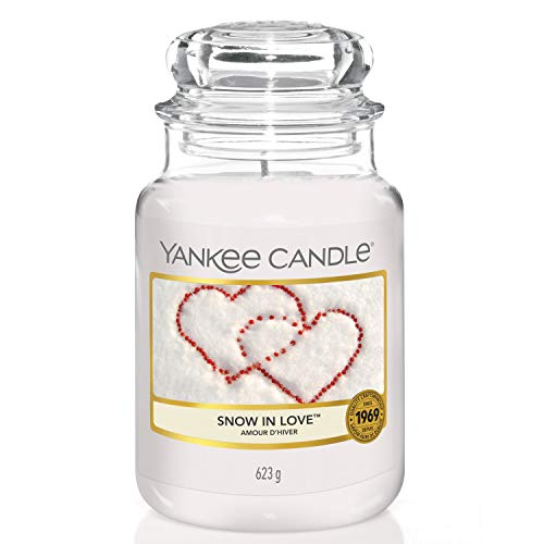 Yankee Candle Large Jar Scented Candle, Snow in Love, Up to 150 Hours Burn Time from Yankee Candle