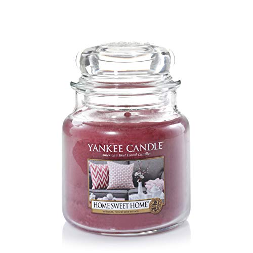 Yankee Candle Scented Candle | Home Sweet Home Medium Jar Candle| Burn Time: Up to 75 Hours from Yankee Candle