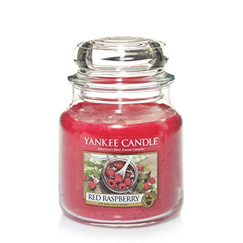 Yankee Candle Medium Jar Candle, Red Raspberry from Yankee Candle