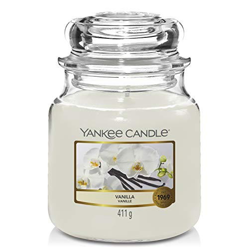 Yankee Candle Medium Jar Candle, Vanilla from Yankee Candle