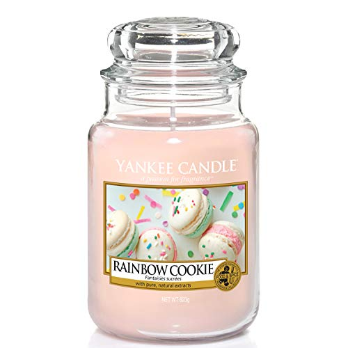 Yankee Candle Scented Candle | Rainbow Cookie Large Jar Candle | Burn Time: Up to 150 Hours from Yankee Candle