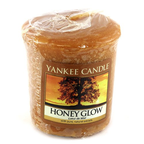 Yankee Candle Sampler Votive Candle, Honey Glow from Yankee Candle