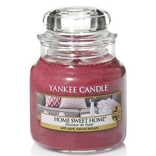 Yankee Candle Scented Candle | Home Sweet Home Small Jar Candle | Burn Time: Up to 30 Hours from Yankee Candle