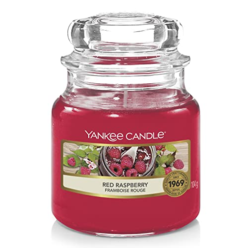 Yankee Candle Small Jar Candle, Red Raspberry from Yankee Candle