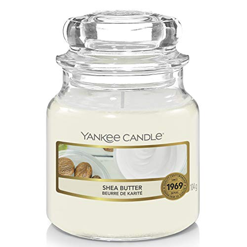 Yankee Candle Small Jar Candle, Shea Butter from Yankee Candle