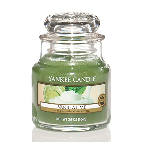 Yankee Candle Scented Candle | Vanilla Lime Small Jar Candle | Burn Time: Up to 30 Hours from Yankee Candle