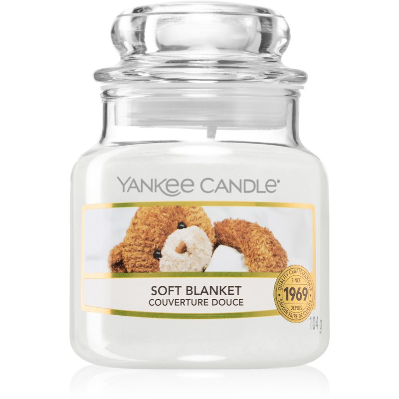 Yankee Candle Soft Blanket scented candle Classic Mini 104 g from Yankee Candle