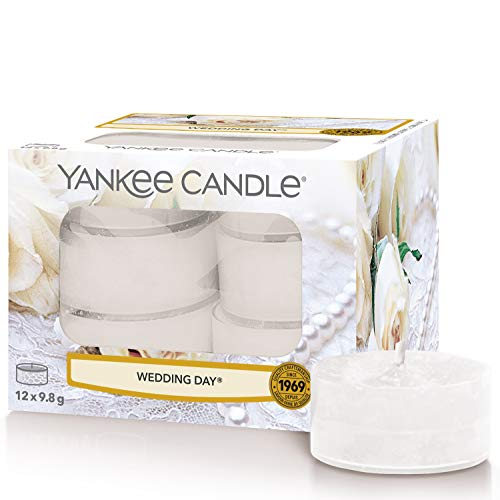 Yankee Candle Tea Light Scented Candles | Wedding Day | 12 Count from Yankee Candle