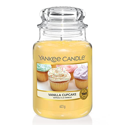 Yankee Candle Vanilla Cupcake Jar Candle - Large from Yankee Candle