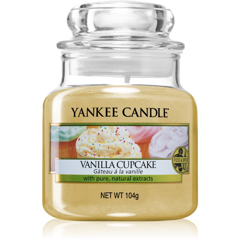 Yankee Candle Vanilla Cupcake scented candle Classic Medium 104 g from Yankee Candle