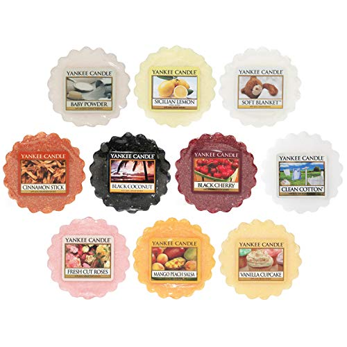 Yankee Candle Wax Melts Value Bundle, Mixed Popular Fragrances, Set of 10 from Yankee Candle