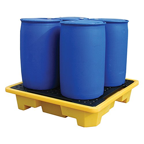 4 Drum Spill Pallet - Stackable from Yellow Shield