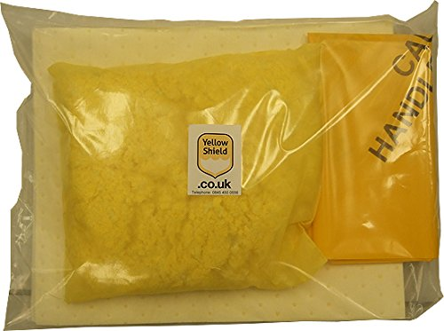 Mini Chemical Spill Kit - 10 Litre from Yellow Shield