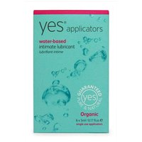 Yes Water-Based Intimate Lubricant Applicators 6x5ml from Yes