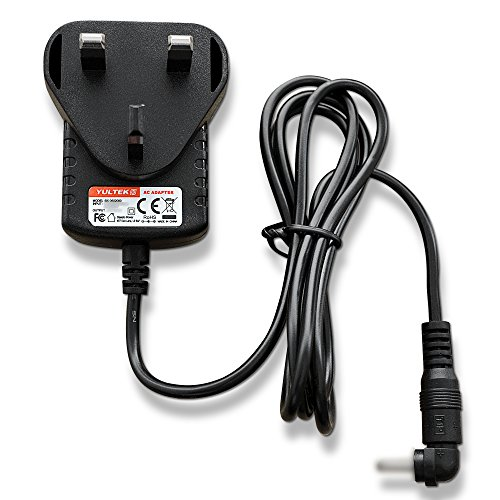 6V 1.0A Power Supply Adaptor for Bush Wooden DAB/FM Radio 356/6314 xhy060100lbbw from Yultek