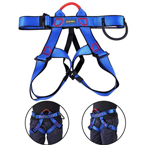 Outdoor Half-body Climbing Harness Safe Seat Belt for Rock Climbing, Mountaineering, Rappelling Equipment from Yundxi