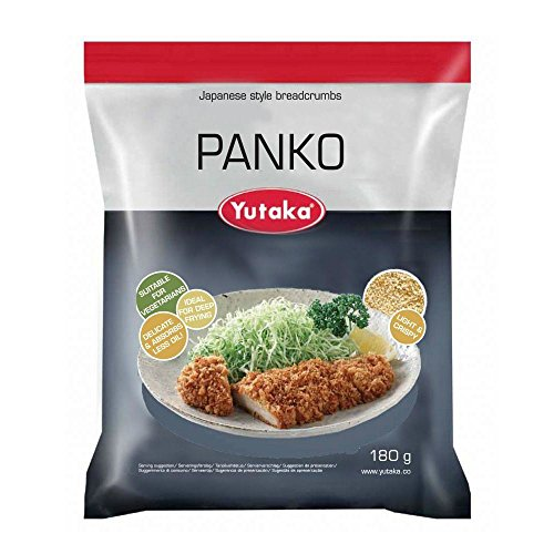 Panko Breadcrumbs for Japanese Cooking 300g Satchet (Pack of 2) from Yutaka