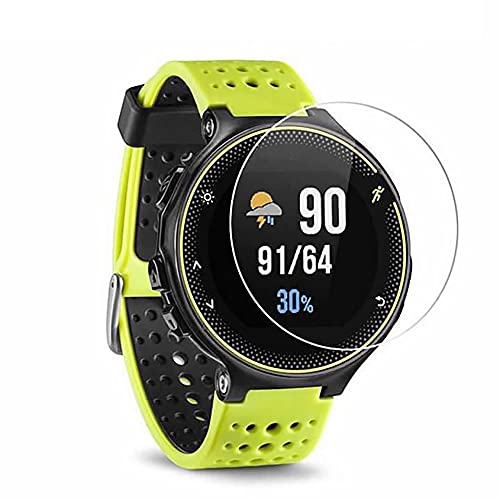 ZEDACA 9H 2.5D Ultra Clear Anti Scratch Anti Fingerprint and Oil Stain No Bubbles Watch Tempered Glass Protector Film for Garmin Forerunner 235/225/630/620/230/220 from ZEDACA