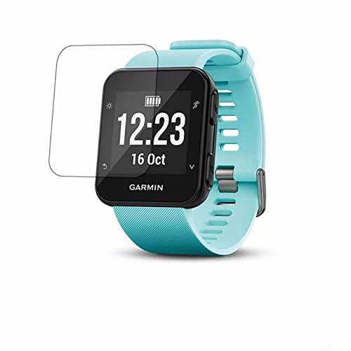 ZEDACA 9H 2.5D Ultra Clear Anti Scratch Anti Fingerprint and Oil Stain No Bubbles Watch Tempered Glass Protector Film for Garmin Forerunner 35 from ZEDACA
