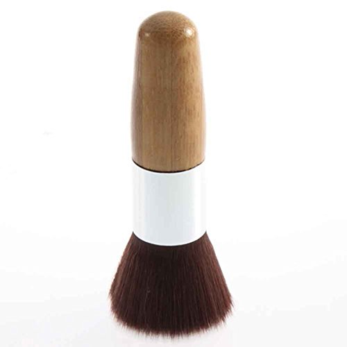 ZHOUBA Wood Handle Big Head Shape Head Foundation Powder Cosmetic Make Up Brush Tool from ZHOUBA