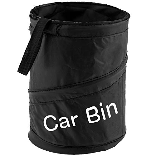 Zacro Car Bin - Foldable and Water Resistant Auto Trash Bag Camp for Garbage and Litter Storage and Collection from Zacro