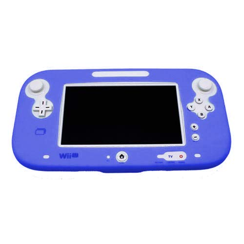 Protective cover for Wii U gamepad silicone cover – Royal Blue | ZedLabz from ZedLabz