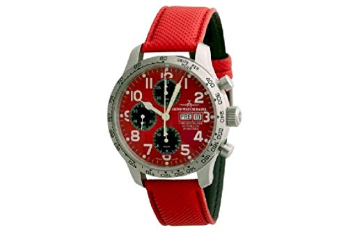 Zeno-Watch Mens Watch - NC Pilot Tachymeter Chronograph Day-Date - 9557TVDD-2T-b7 from Zeno