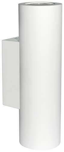 Modern LED White Ceramic Up u0026 Down Contemporary Indoor Wall Light L& Fixture GU10 B1205 from  sc 1 st  Wunderstore & Zenon Lighting Collection Alba Range: Find offers online and ... azcodes.com