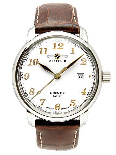 Zeppelin Men's Watch 76561 With Automatic White Dial from Zeppelin