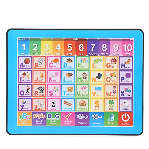 "Zerodis Baby Kids Touch Screen Learning Machine Tablet English Early Educational Toy 9.4""x7.4"" from Zerodis"