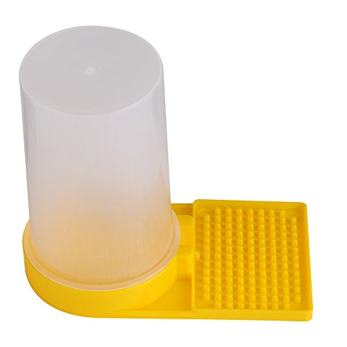 Zerodis Bee Feeder Beehive Drinking Entrance Bowl Plastic Bee Keeping Equipment from Zerodis