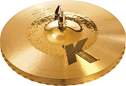 "Zildjian K Custom Series - 14 1/4"" Hybrid Hi-Hat Cymbals - Pair from Zildjian"