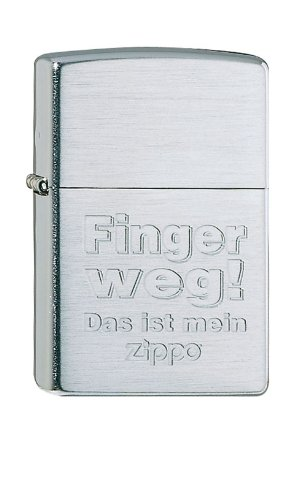 Zippo 1370007 Lighter 1600 Roses with Panel Emblem, Brass, brushed chrome, 1 x 3,5 x 5,5 cm from Zippo