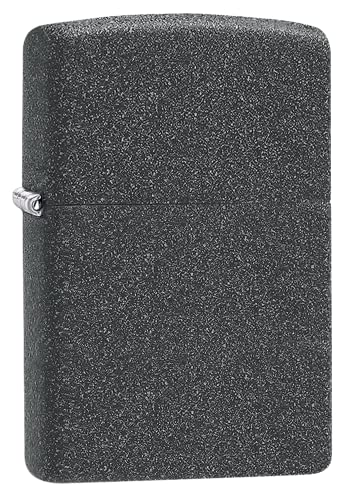 Zippo 211 Windproof lighter without logo, Iron Stone, Regular from Zippo