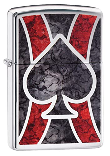 Zippo Ace Fusion Windproof Lighter - High Polished Chrome from Zippo