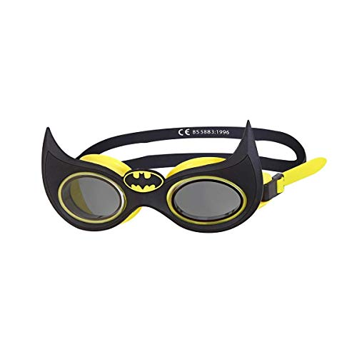 Zoggs Kids' DC Super Heroes Character Swimming Goggles, Batman, 6-14 Years from Zoggs