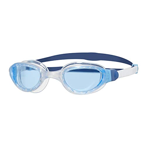 cc83cbdcbe Zoggs Unisex's Phantom 2.0 Swimming Goggles, White/Blue/Tint, One Size from