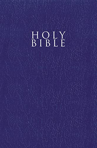 Niv, Gift and Award Bible, Leather-Look, Blue, Red Letter Edition, Comfort Print from Zondervan