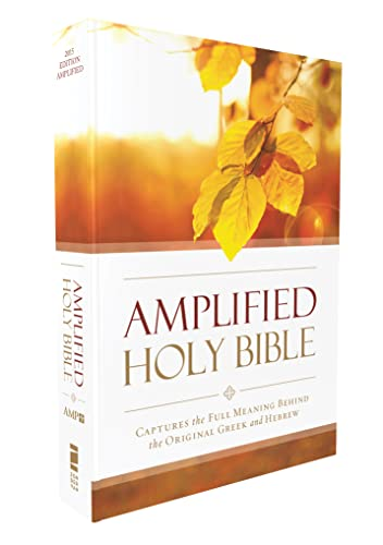 Amplified Outreach Bible, Paperback: Capture the Full Meaning Behind the Original Greek and Hebrew from Zondervan