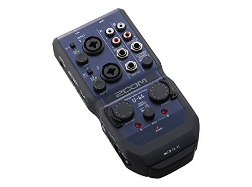 Zoom U-44 Mobile Phone Audio Interface from Zoom