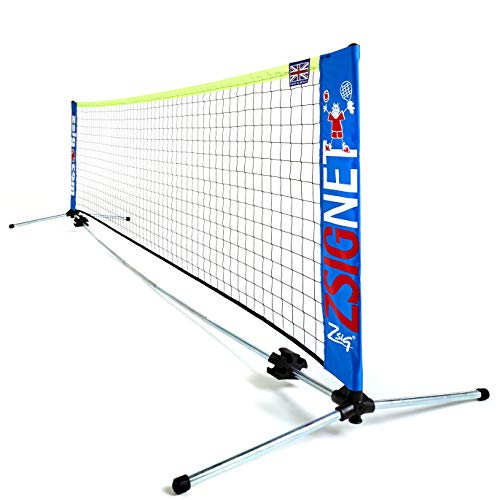 ZSIG Family Mini Tennis Net - 3m Portable Net. Great For Gardens! from Zsig