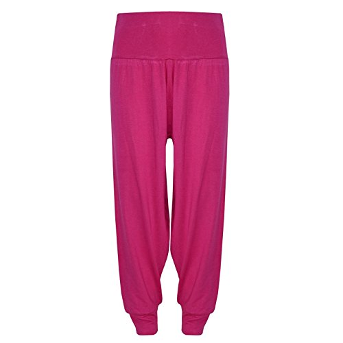 Kids Girls Ali Baba Style Plain Color Fashion Trendy Trouser Age 2 3 4 5 6 7 8 9 10 11 12 13 Years from a2z4kids