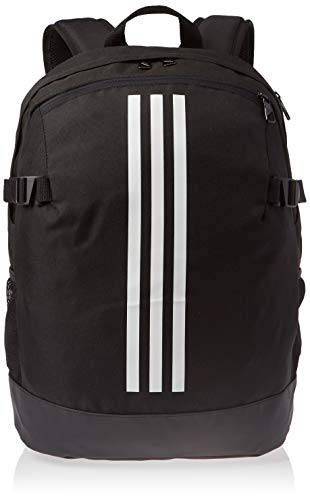 adidas 3-Stripes Power Backpack Medium - Black/White/White, 16 x 32 x 44 cm from adidas