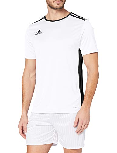 adidas Men's Entrada 18 Jersey, White/Black, 2X-Large from adidas