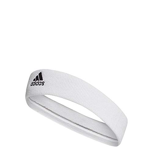 Adidas Kids Tennis Headband - White/Black, One Size/Youth from adidas