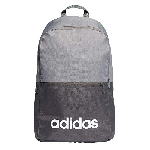 3bde7ee8de Adidas Unisex Adult Lin CLAS Bp Day Gym Backpack - Grey Four F17 Black