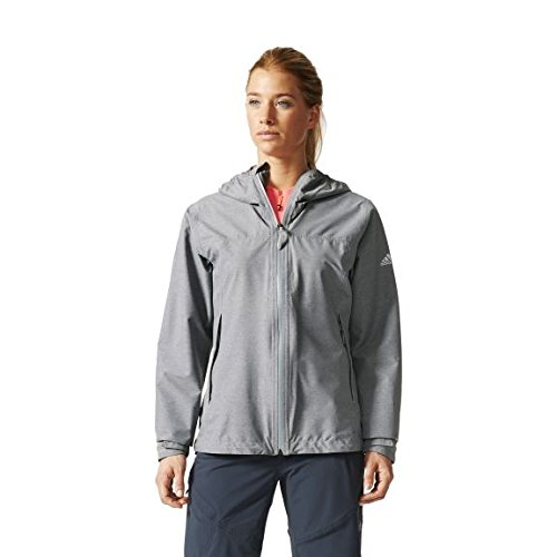 adidas W Living Outdoors Men's Functional Jacket grey grey Size:44 from adidas