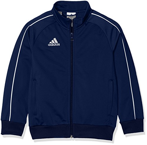 Adidas Kid's Core 18 Jacket, Blue (Dark Blue / White),9-10 years (Size Manufacturer: 140 cm) from adidas